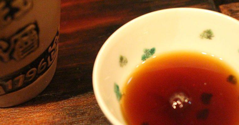 旨仙長日記【11日目】「甘い酒」は食中酒にならない?
